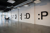 Exhibition by Stephane Blumer at La Scatola Gallery in Shoreditch, London, La Scatola, the Italian word for The Box. A run-down commercial district also known as Silicon Roundabout, which is undergoin... - Philip Wolmuth - 07-02-2012