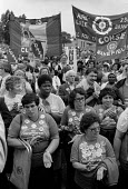 Day of Action by domestic workers at Hammersmith Hospital, protesting at the privatisation of the service. - Philip Wolmuth - 18-07-1984