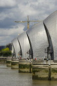 The Thames Barrier, Greenwich, London. - Philip Wolmuth - 26-08-2012