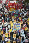A Future that Works: TUC march and rally against austerity, London. - Philip Wolmuth - 20-10-2012