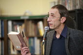 Author Will Self reads from his novel Umbrella, which has been shortlisted for the 2012 Man Booker prize, at the occupied Friern Barnet library. The library has been run by Occupy London and local vol... - Philip Wolmuth - 14-11-2012
