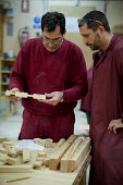 Carpentry and joinery workshop at the Centro Albayzin (the Andalucian School of Restoration), which is funded by the European Social Fund, the City of Granada and the province of Andalucia to provide... - Philip Wolmuth - 25-01-2013