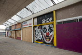 The Joke shop. Boarded up and empty shops in Margate, Kent. - Philip Wolmuth - 2010s,2013,boarded up,business,closed,closed closure,closed down,closing,closure,closures,clown clowns,disused,DOWNTURN,ebf,EBF Economy,Economic,economic crisis,economy,joker,Kent,Margate,outlet,outle
