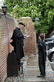 Teacher and schoolboy at Eton College. - Philip Wolmuth - 29-05-2013