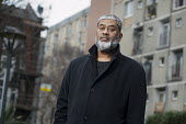 Mohammed Joynal-Uddin, resident of Regents Park Estate and Chair of West Euston Partnership, and whose home is threatened with demolition under plans for the HS2 high speed railway line. - Philip Wolmuth - 2010s,2013,and,apartments,asian,asians,BAME,BAMEs,black,BME,bmes,Borough,Camden,cities,city,developer,developers,DEVELOPMENT,diversity,ethnic,ethnicity,Euston,flats,home,homes,housing,HS2,London,minor