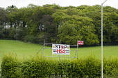 Vote UKIP Stop HS2 roadside poster in Buckinghamshire - Philip Wolmuth - 06-05-2013
