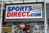 Sports Direct store, London. 90% of staff at the sportswear chain are employed on zero hours contracts. - Philip Wolmuth - 2010s,2013,cities,city,clothing clothes,contracts,EARNINGS,EBF Economy,EMPLOYEE,employees,employment,EQUALITY,Income,INCOMES,inequality,job,jobs,lbr work,living wage,low pay,Low Income,low paid,low pa