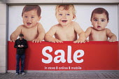 January sales, Mothercare, Oxford Street, London. - Philip Wolmuth - 02-01-2014