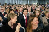 Ed Miliband MP and shadow cabinet members. Labour Party Special Conference on reform of its link to trade unions, ExCel Centre, London. - Philip Wolmuth - 01-03-2014
