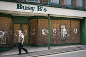 Boarded up shop in the centre of Ramsgate, one of the five most deprived seaside towns in the UK. - Philip Wolmuth - 12-08-2014