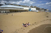 Near empty beach in high season in Ramsgate, one of the five most deprived seaside towns in the UK. - Philip Wolmuth - ,&,2010s,2014,beach,BEACHES,coast,coastal,coasts,decline,deprivation,economic,economy,empty,England,holiday,holiday maker,holiday makers,holidaymaker,holidaymakers,holidays,Kent,leisure,LFL,LIFE,lifes