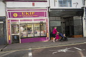 UKIP office in Ramsgate, one of the five most deprived seaside towns in the UK and part of the Thanet South Parliamentary constituency. - Philip Wolmuth - 12-08-2014