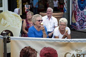 Holidaymakers on Clacton Pier. The resort is the second most deprived seaside town in the UK. - Philip Wolmuth - 20-08-2014