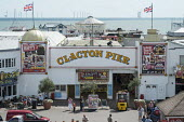 Clacton Pier. The resort is the second most deprived seaside town in the UK. - Philip Wolmuth - 20-08-2014