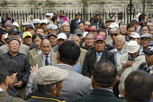 Gurkhas rally outside Parliament to lobby for Gurkha pensions and terms of employment, London - Philip Wolmuth - 11-09-2014