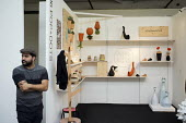 Stall at London Design Week, Truman Brewery, Brick Lane. - Philip Wolmuth - 20-09-2014