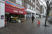 Enk Kaya set up the Caglayan Supermarket in shop premises on the New Era Estate 2 years ago, but his lease will end in April 2015, following takeover of the estate in Hoxton, London, by US property co... - Philip Wolmuth - 2010s,2014,Borough,bought,business,businesses,buy,buyer,buyers,buying,cities,city,commodities,commodity,company,CONSUMER,consumers,consumption,customer,customers,EBF,Economic,Economy,EQUALITY,finance,