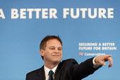 Conservative Party Chair Grant Shapps MP gives an election press conference, Westminster, London. - Philip Wolmuth - 30-01-2015