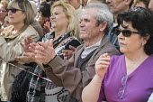 Podemos rally in Malaga a week before Andalusian parliamentary elections in which the grassroots party is hoping to make significant gains. - Philip Wolmuth - 14-03-2015