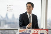 Ed Miliband MP. Labour Party general election campaign launch, Stratford, London. - Philip Wolmuth - 27-03-2015