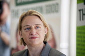 Natalie Bennett. Green Party general election manifesto launch, Dalston, London. - Philip Wolmuth - 14-04-2015