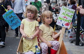 Toddlers against Austerity. End Austerity Now, national demonstration organised by the Peoples Assembly, London. - Philip Wolmuth - 20-06-2015