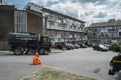 Flats scheduled for demolition on West Hendon Estate, where tenants and leaseholders in 680 properties are being moved out to make way for a 2000 home development by West Hendon Estate, only 200 of wh... - Philip Wolmuth - 2010s,2015,apartments,Barnet,Borough,Brownfield Site,BUILDING,Building Worker,BUILDINGS,cities,city,cleaning,cleansing,construction,Construction Industry,Council Housing,Council Services,Council Housi