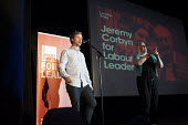 Journalist Owen Jones. Grassroots for Jeremy. 1500 people attend a rally in support of Jeremy Corbyn for Labour Leader. Camden Centre, London. - Philip Wolmuth - 03-08-2015