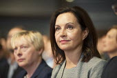 Caroline Flint at Labour Party deputy leadership election Westminster London - Philip Wolmuth - 12-09-2015