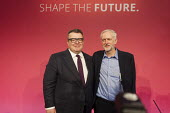Tom Watson & Jeremy Corbyn win Labour Party leadership elections Westminster London - Philip Wolmuth - 12-09-2015