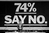 Deputy Leader of the GLC John McDonnell speaking 74% opinion poll against abolition of the GLC London 1985 - Philip Wolmuth - 1980s,1985,abolition,against,authority,Council,GLC,Greater,Labour Party,Leader,local authority,London,metropolitan,opinion,opinions,POL,political,POLITICIAN,politicians,politics,SPEAKER,SPEAKERS,speak