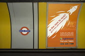 In the race to rent? Rightmove advertisement, Bond Street tube station, London - Philip Wolmuth - 11-09-2015