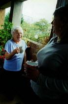 Elderly woman in sheltered accommodation, Hackney - Joanne O'Brien - 20021024