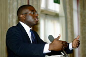 David Lammy MP for Tottenham, London speaking. - Joanne O'Brien - 20021024