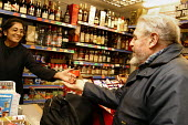 Elderly man shopping in local supermarket - Joanne O'Brien - 24-04-2004