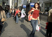 Shoppers on Oxford Street, London - Joanne O'Brien - 26-04-2006