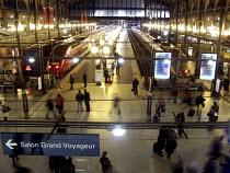 Gare du Nord, Paris railway terminal for the Eurostar - Joanne O'Brien - 2000s,2008,air transport,aircraft,aviation,du,EBF economy,eu,Europe,european,europeans,Eurostar,eurozone,france,french,Gare,infrastructure,jet,jets,journey,journeys,network,Nord,Paris,passenger,PASSEN