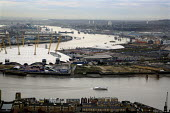 View of the City of Greenwich and the O2 Centre (formerly the Millennium Dome), London - Joanne O'Brien - 28-11-2007