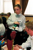 Student in Licensing and Retailing degree practising wine waiting - Roy Peters - 13-05-1997