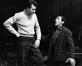 Lionel Bart directing rehearsals for a play, London, 1960. .... - Alan Vines - 15-10-1960