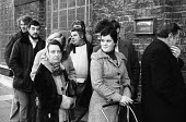 Unemployed queueing up to claim their unemployment benefit at the Unemployment Exchange in Islington London, 1977. - Bob Appleton - 1970s,1977,benefit,benefit office,benefits,cities,city,claim,dole,employee,employees,Employment,Exchange,FEMALE,Islington,job,jobless,jobs,jobseeker,jobseekers,lbr,line,London,male,man,Marginalised,me