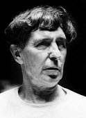 Composer, Sir Michael Tippett, 1970, London. - Bente Fasmer - 16-10-1970