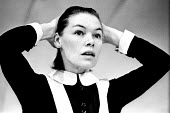 The Maids by Jean Genet staged at the Greenwich Theatre in London, 1974, starring Glenda Jackson as Solange. - Bente Fasmer - 14-02-1974