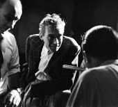 Film Director John Huston on the set of Moulin Rouge 1952, Paris, France - Dominique Darbois - 1950s,1952,ACE,act,acting,actor,actors,adult,adults,arts,cinema,costume,culture,Directing,director,directors,drama,DRAMATIC,entertainment,eu,Europe,european,europeans,eurozone,film,film making,filming
