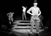 The Emperor Jones by Eugene O'Neill, Dark & Light Theatre, Brixton, 1973.  Bill Nighy in foreground. - David Morris - 25-04-1973