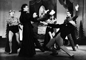 The Lyric Revue, Lyric Theatre, London, 1951, based on music by Noel Coward, Donald Swann and others. - Elisabeth Chat and Inge Morath - 1950s,1951,ACE,acting,actor,actors,actress,actresses,cities,city,DANCE,DANCER,DANCERS,dancing,entertainment,FEMALE,London,melody,music,musical,people,person,persons,play,PLAYING,revue,singing,stage,th