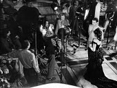 Film set of Anna Karenina, directed by Julien Duvivier, centre, London, 1947. - Felix H. Man - 19-07-1947