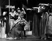 The Caucasian Chalk Circle by Bertolt Brecht, Berliner Ensemble, London 1956 - Felix H. Man - 1950s,1956,ACE,act,acting,actor,actors,Arts,Berliner Ensemble,Bertolt Brecht,Chalk,Culture,Ensemble,Epic theatre,London,male,man,men,modern,modernism,modernist,modernists,people,performance,performer,