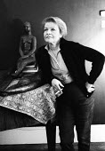Anna Mahler, sculptor, and daughter of composer Gustav Mahler, London, 1967. - Gertie Deutsch - 1960s,1967,ACE,art,artist,artists,arts,artwork,artworks,cigarette,CIGARETTES,cities,city,composer,culture,female,London,Mahler,nicotine,people,person,persons,sculpture,SCULPTURES,SMOKE,SMOKER,SMOKERS,