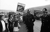 Women Against Pit Closures picketing Port Talbot Steelworks, South Wales, the Miners Strike - John Harris - 24-07-1984